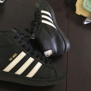 adidas shell toe high top